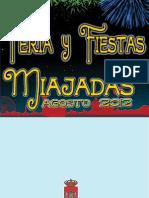 PROGRAMA FERIAS Y FIESTAS DE MIAJADAS