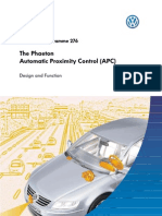 SSP 276 Phaeton Proximity Control