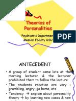 K34 Psikiatri - 1.School of Personalities