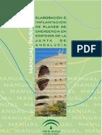 MANUAL PARA LA ELABORACIÓN E IMPLANTACIÓN DE PLANES DE EMERGENCIAS EN EDIFICIOS DE LA JUNTA DE ANDALUCÍA