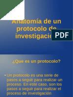 Anatomia del protocolo de investigacion