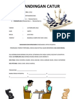 Pertandingan Catur (Flyer)