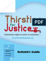 Thirsting for Justice - Activist's Pack - English