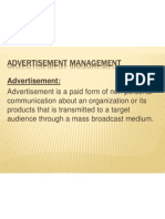 Advertisement Management Module 1