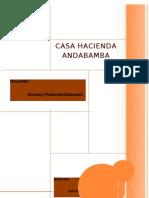 Casa Hacienda Andabamba