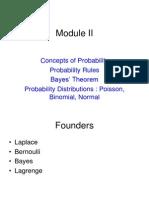 Module II Probability