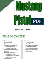 Mustang Pistol 3 of 3 Passing Game