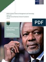 ESMT Kofi Annan Fellowship