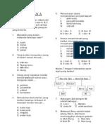 Soalan Latihan 2 Kajian Tempatan Tahun 4