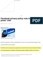 2012-06-11 Facebook Holds Vote - Then Ignores Results
