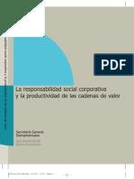 La Responsabilidad Social Corporativa y la productividad de las cadenas de valor