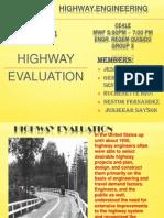 Highway Evaluation Report