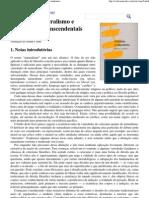 P. F. Strawson - Ceticismo, Naturalismo e Argumentosd Transcendentais