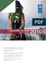 Undp Burundi Report 2008 2010