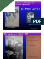 Les Dr Gaston et André Durville, fondateurs d'Héliopolis