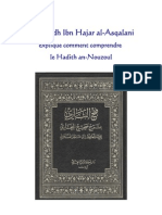 Explication Du Hadith an-Nouzoul Par Ibn Hajar Al-Asqalani