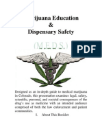 Cannabis Therapeutics Marijuana Education and Dispensary Safety Guide (Colorado)