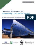 CDP 2011 India 200 Report