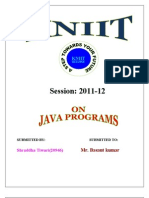 java programms