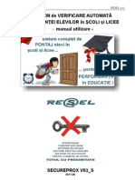 Manual Pontaj Scoli Cu Cctv