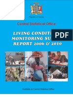 2006-2010 Living Conditions Monitoring Survey Report