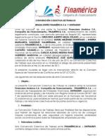 Convencion Colectiva Finamerica - Sintraenfi 2012