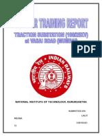 Training Report Indian Railway