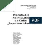 BANCO MUNDIAL - Desigualdad en América Latina
