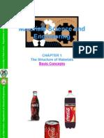 ChE 42D Chapter 1 Ed_11!09!07_structure of Matls_basics