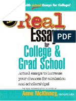 Real Essays for College and Grad School (EXCELLENT)