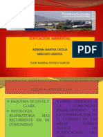 ESQUEMA Y CARTEL DE EDUCACIÓN AMBIENTAL