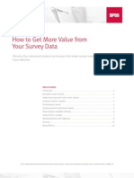 SPSS Survey Data