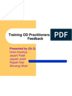Training OD Practitioners in Data Feedback- 8.1