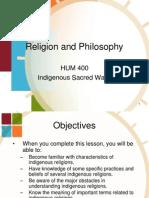 Chapter 2 Indigenous sacred ways