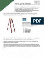 Fibre Glass Ladders