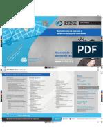 Licenciatura en Administración de empresas  y desarrollo de negocios innovadores ESDIE