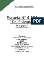 informe didáctica I