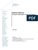 Addiction Medicine 2012 Report- Columbia Univ