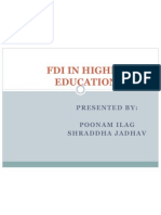 FDI in Higher Education Presentation