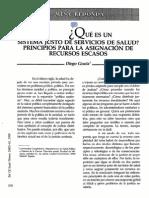 Justicia & Sistema de Salud Justo - Gracia 1990 OPS PAHO