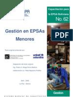 Gestión en EPSAS menores