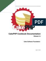 CakePHPCookbook 2.x
