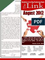 AUGUST 2012 LINK for Website