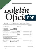 Boletín de PRovincia de Buenos Aires OFICIAL2012-07-25 pago de aguinaldos