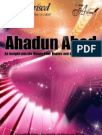 Ahadun Ahad- An Insight Into the 99 Names and Attributes of Allah