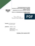 TRANSDUCTOR DE PRESIÓN