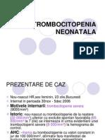 Trombocitopenia neonatala