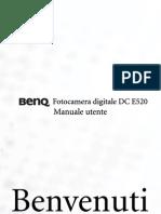 Manuale BENQ E520
