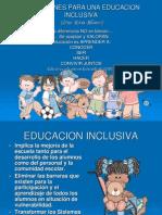 5 EDUCACION INCLUSIVA