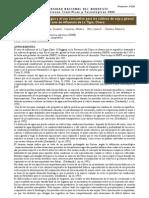 Analisis de Oferta de Agua y El Uso Consuntivo Del Agua